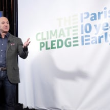 Amazon plans to hit Paris climate change goals 10 years early