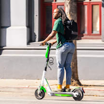 Lime knows when you're riding its scooters on the sidewalk