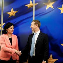 EU won't let Facebook tell it how to regulate tech giants