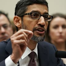 Google CEO Sundar Pichai calls for 'sensible regulation' of AI