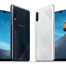 Samsung updates mid-range A50 and A30 with new cameras, flashier designs