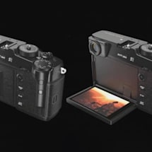 Fujifilm's X-Pro3 mimics film cameras with a fold-out display