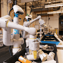 Alphabet's rebooted robotics program starts with trash-sorting machines