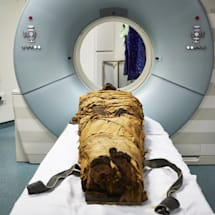 Scientists tried to recreate a mummy's voice with an electronic larynx