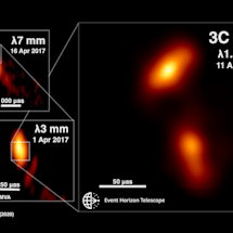 Scientists visualize a black hole plasma jet in unprecedented detail