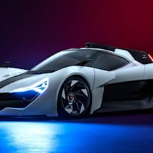Apex's electric supercar includes an AR race coach and partial self-driving