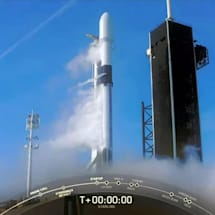SpaceX aborts Falcon 9 launch with rare 'Liftoff! Disregard' sequence