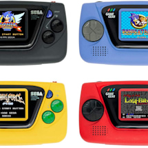 Sega's Game Gear Micro lives up to its name with a 1.15-inch screen