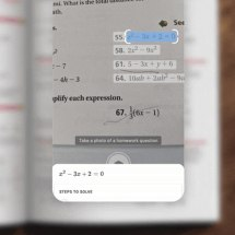 Google Lens' new 'Homework' filter will solve math problems from a photo