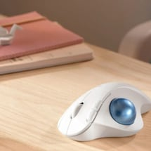 Logitech's new $50 ergonomic trackball mouse has Bluetooth LE support
