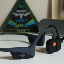 AfterShokz OpenComm is a bone conduction headset for the Zoom generation