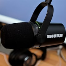 Shure's $249 MV7 is a USB/XLR microphone built for podcasters