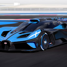 Bugatti's Bolide is a 1,825HP 'morphable' hypercar