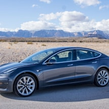 Tesla Model 3 earned a mediocre score in Europe's new assisted driving test