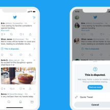 Twitter will warn you if you 'like' misleading tweets