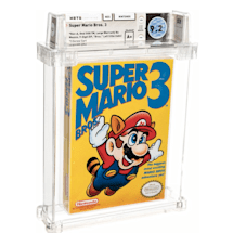 A copy of 'Super Mario Bros. 3' sold for $156,000