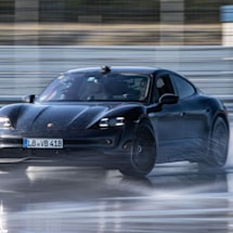 Watch a Porsche Taycan break the Guinness World Record for an EV drift
