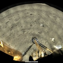 China's lunar sampling robot beams back its first full-color moon shots