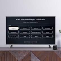 Amazon's free news app on Fire TV now features local stations