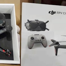 DJI's cinematic FPV drone leaks in photos
