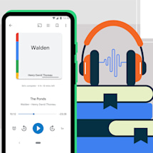 Android gets auto-narrated audiobooks and expanded Voice Access