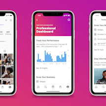Instagram adds 'professional dashboard' for businesses and creators