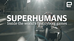 Vote for Engadget R+D's 'Superhumans' series to win a Webby Award!