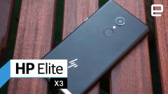 Watch HP's Elite X3 Windows Phone simulate a desktop