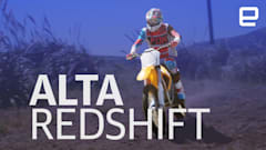 The Alta Redshift MX brings electricity to the dirt track