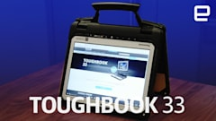 Panasonic's Toughbook 33 is designed for extreme field work