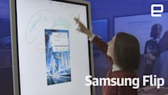 Spend some time with Samsung's $2,700 Flip whiteboard