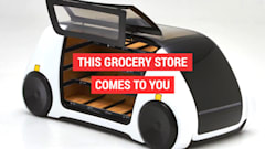 完全自動運転で食料品を届けてくれる無人店舗「ロボマート」