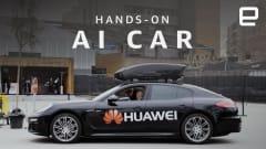 Huawei made a Porsche slightly autonomous with a smartphone