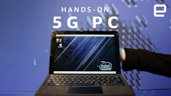 Intel's PC concept 'hides' a 5G antenna in a plump kickstand