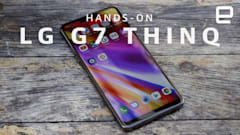LG G7 ThinQ hands-on: The loudest, brightest smartphone yet