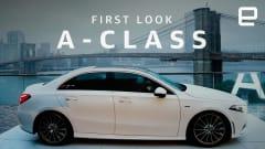 Mercedes' new, affordable A-Class sedan is as smart as it is sleek