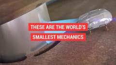 エンジン内部に入り込んで点検する小型ロボ ロールス・ロイスが開発中