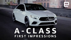 Mercedes A-Class First Drive: Top-level tech comes to an entry-level car