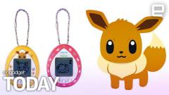 Eevee lives inside the first Pokémon Tamagotchi