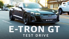 Driving Audi's beautiful E-Tron GT concept car