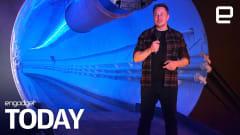 Elon Musk's LA tunnel turns Teslas into a 'rail-guided train'
