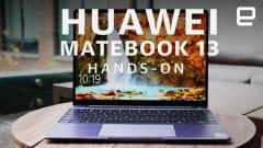 Huawei MateBook 13 hands-on: A powerful, pretty MacBook rival