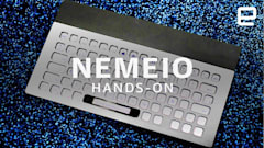 Nemeio is a completely customizable e-ink keyboard