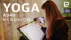 Lenovo's Yoga A940 is a serious Surface Studio rival