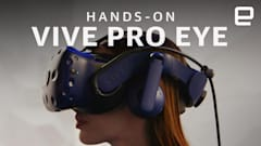 HTC Vive Pro Eye hands-on: Everything is prettier with gaze-tracking