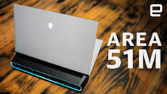 Alienware Area-51M review: A gaming desktop stuffed inside a laptop