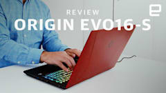 Origin EVO16-S review: A powerful gaming laptop with a bigger screen