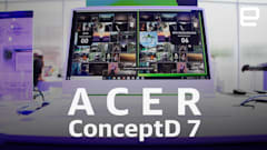 Acer ConceptD 7 laptop hands-on: Quadro RTX power in a stylish package