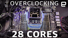 Pushing a 28-core CPU to its limits: 6GHz and beyond