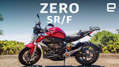 Zero's SR/F electric motorcycle makes a great commuter bike